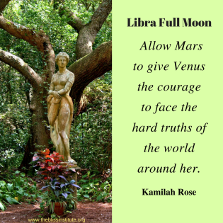 Allow Mars to give Venus the courage to face the hard truths of the world around her